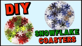 Snowflake Resin Coasters DIY - Another Coaster Friday Craft Klatch