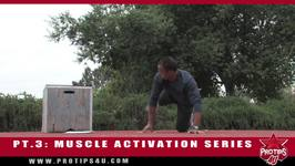 Track and Field Tips Active Warmup PT. 3 Muscle Activation Series - Kneeling Complex with Bryan Clay