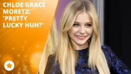 Chloe Grace Moretz is feeling lucky in love!