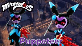 PUPPETEER - Miraculous Ladybug And Cat Noir Villain Custom Doll from My Little Pony EG Mini Tutorial