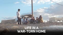 No place like home: Even a war-torn home?
