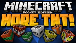 SOOOO MUCH TNT - Too Much TNT Mod - Adds 20 More TNT Types In Game - Minecraft Pocket Edition