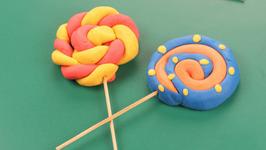 Playdoh Lollypop