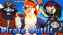 DIY Pirate Outfit Craft - Eye Patch, Hook and Headband - Crafts with Crafty Carol