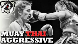How to Fight an Aggressive Opponent with Muay Thai Techniques