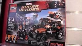 LEGO Marvel Super Heroes Crossbones' Hazard Heist NYTF Teaser : LEGO 76050