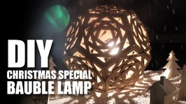 Mad Stuff With Rob - DIY Bauble Lamp  Christmas Special