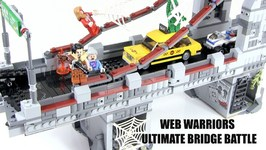 LEGO Marvel Superheroes Spider-Man- Web Warriors Ultimate Bridge Battle Review - LEGO 76057