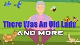 There Was An Old Lady And Many More 46 mins  compilation  Vintage Nursery Rhyme Collection .