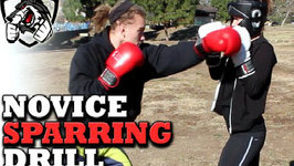 Beginner Sparring Drill For Reaction Time, Head Movement And Defense