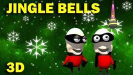 Jingle Bells 3D - 3D Christmas Carols - 3D Christmas Songs for Kids By MyKiddyWorld