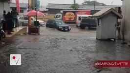 Heavy Flooding In Ghana Creates A River In The Streets Of Its Capital City