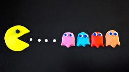Pac Man Play-Doh