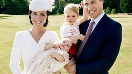 First Photos of Princess Charlotte After Christening