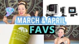 April Monthly Travel Favorites