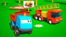 Kids 3D Machine Cartoons For Children 3  Leo The Truck  Fire Engine Truck