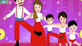 Tarantella Dance Style - Dance Finger Family Nursery Rhymes