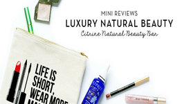 Luxury Natural Beauty Reviews - Citrine Natural Beauty Bar