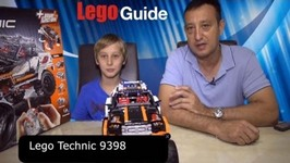 Lego Technic 9398 Rock Crawler RC Review and Run