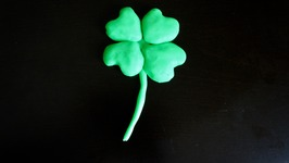 Play-Doh Four Leg Clover