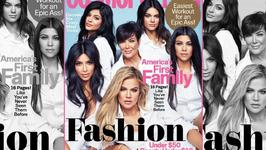 Kardashian clan on first family cover in four years