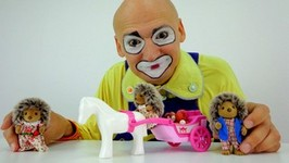 Try Not To Laugh Funny Video For Kids. Funny Pranks For Kids Andew The Clown Sylvanian Families Toys