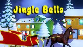 Jingle Bells - Christmas Carols - 3D Christmas Songs For Children - Baby Nursery Rhymes