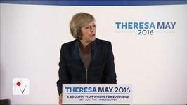 Theresa May Set to Become Britain's Next Prime Minister
