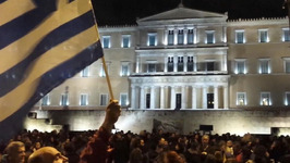 Thousands join Pro-Government Rally in Athens