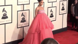 Rihanna's Grammy dress becomes internet sensation