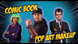 Mad Stuff With Rob - Comic Book Pop Art MakeUp  Comic Con Special