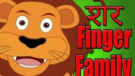 Naani Naani Hindi Rhymes For Kids -Animal Finger Family In Hindi -Balgeet -Popular Song