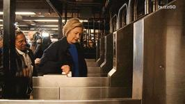 Hillary Clinton Embraces Her Subway Swipe Fail On Website's Error Page