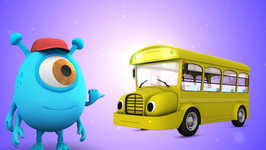 Wheels On The Bus  Popular Children's Nursery Rhymes