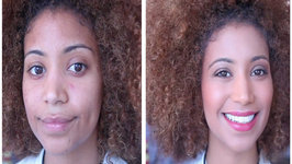 Natural Summer Glow Light Skinned WOC Makeup Tutorial