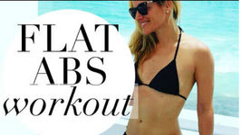 5 Exercises For A Flat Belly - Flat Belly Workout