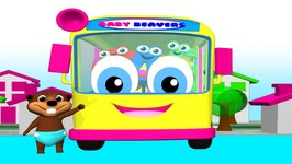 Wheels on the Bus - 2 - Kindergarten Nursery Rhyme - Classic Kid's Song - English for Babies