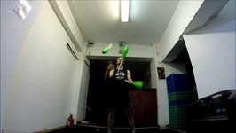 Random juggling in the gym