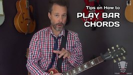 Quick Tips on How To Play Bar Chords - Beginner Guitar Lesson