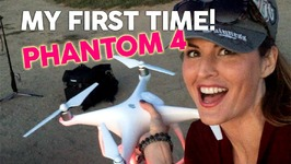 MEETING THE DJI PHANTOM 4 DRONE with PhotoshopCAFE