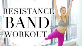 Short Full Body Workout With Resistance Band - Resistance Band Workout For Women