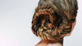 How to do a fishtail seashell bun