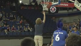 Student Wins a Truck After Crazy Half Court Field Goal