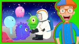 Story Time with Blippi - Magical Moon Rock - Video for Kids
