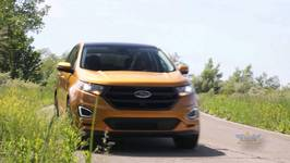 2016 Ford Edge Sport & Titanium Models On The Road