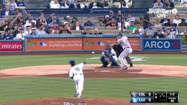 Dodgers Highlights: Maeda Hits Season High Strikeouts as Dodgers Lose 1-0