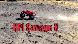 HPI Savage X Bashing