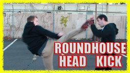How To Roundhouse Kick To The Head KO In A Street Fight