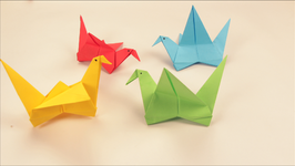 Origami Flying Bird