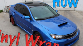 2011 Subaru WRX Vinyl Roof Wrap Full Install Tutorial